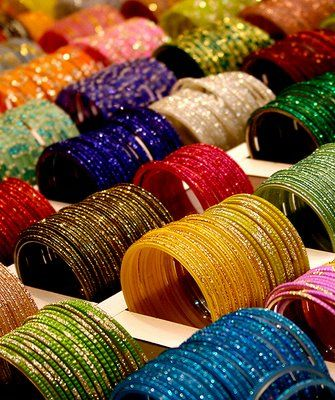 I miss the bangle markets...it was run picking out my favorites!