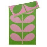 Orla Kiely Beach Towel (Pink Lilac & Grass)