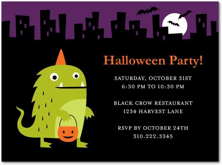 4cdc7ff79da28485e65169a35eb4035a halloween prints cute halloween 31 best images about kids halloween party invites on pinterest,Cute Halloween Party Invitations