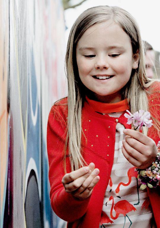 Koningsdag 2016: Princess Ariane during the Kingsday celebrations in Zwolle, Netherlands. 27 april 2016