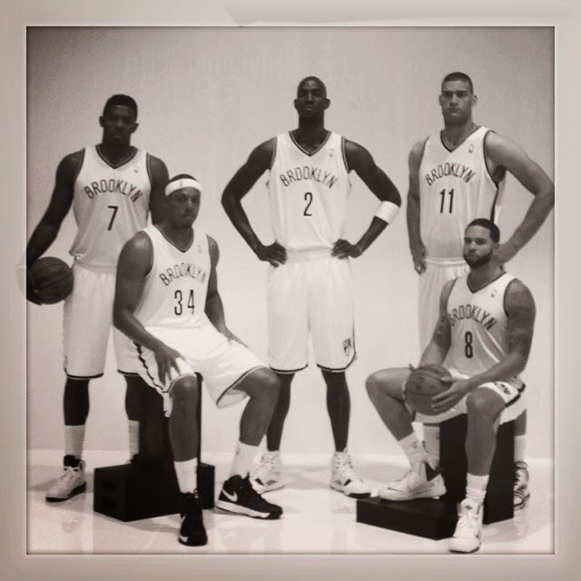 New Look Brooklyn Nets (Still sad about KG and Pierce leaving!)