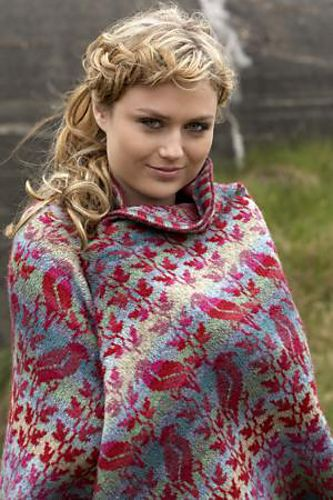 Ravelry: Bird Shawl pattern by Christel Seyfarth. Oh, I wish someone would make this for me!(I don't knit well enough!)