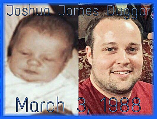 Joshua James Duggar  March 3, 1988