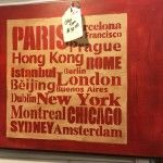 Cities Sign, The Turned Leg, Plaza Antiques & Collectibles Mall, Booth 134
