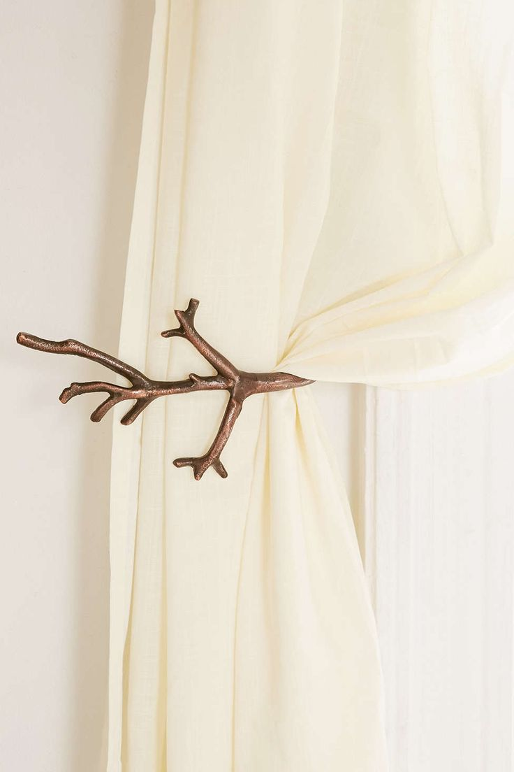Branch Curtain Tie Back