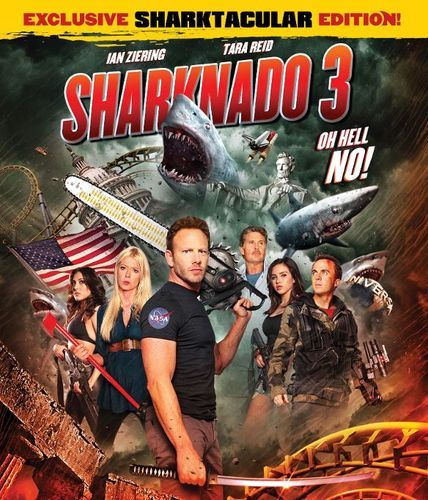 Sharknado 3: Oh Hell No! [Blu-ray] [2015]