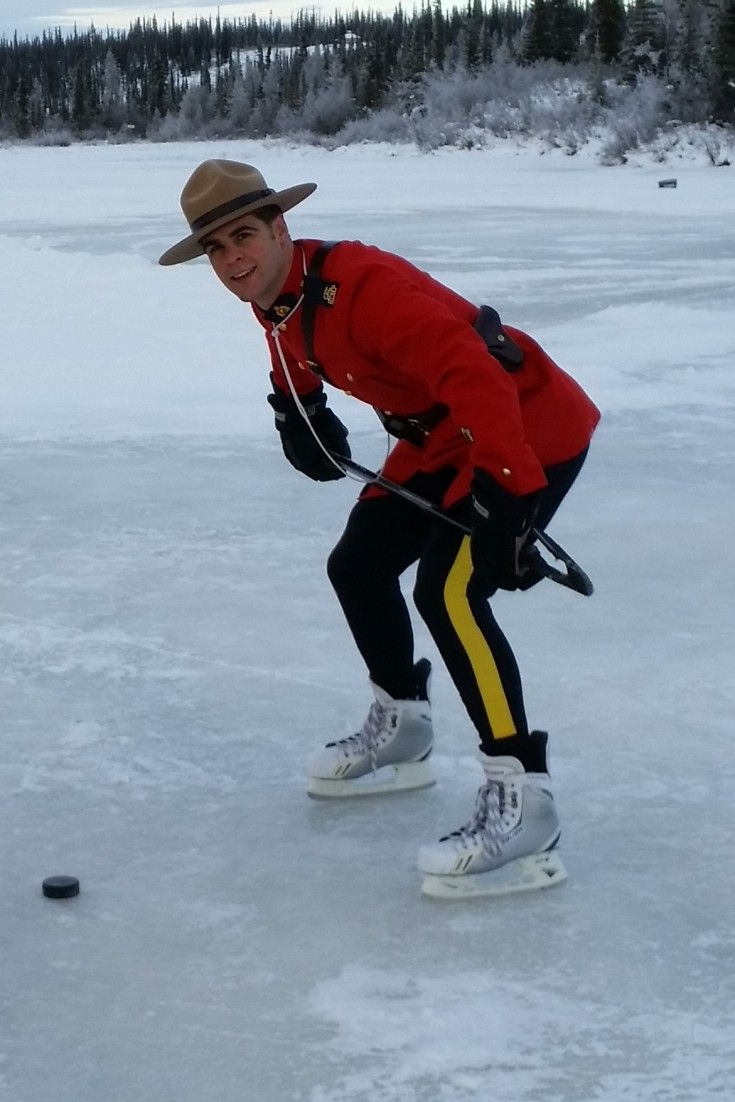 Mounties Play Shinny To Stake Claim Northwest Territories Is Birthplace Of…