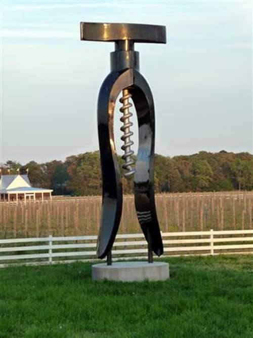 Giant #Corkscrew ...Just need the matching #wine bottle!