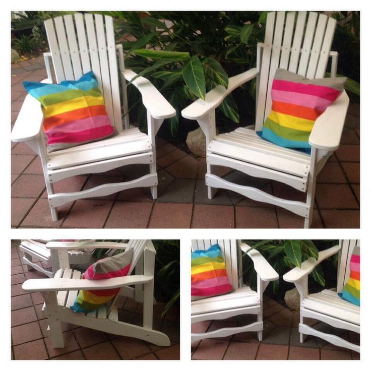 Adirondack chair  Find us on Facebook