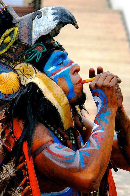 ...Mayan warrior by Juan-M