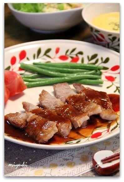 ポークソテー ソースたっぷり♪ by miyukiさん | レシピブログ - 料理 ...