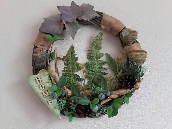 Check out this item in my Etsy shop https://www.etsy.com/listing/554315522/natural-forest-wreathfront-door