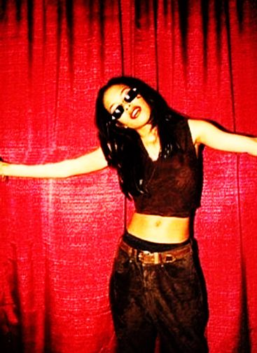 Rare Aaliyah Picture. Edited by Phoenix Rising.