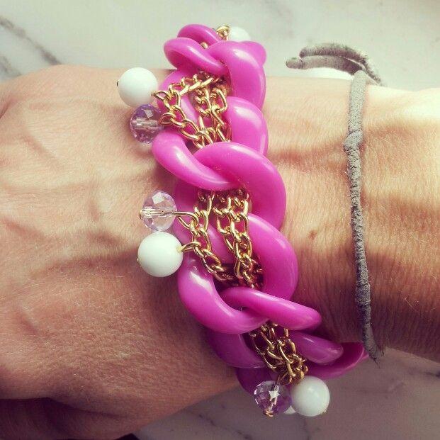 Modello Naná...realizzabile anche come collana..#pendant#necklace#colors#golden#love#bijoux#jewels#cute#madeinitaly#