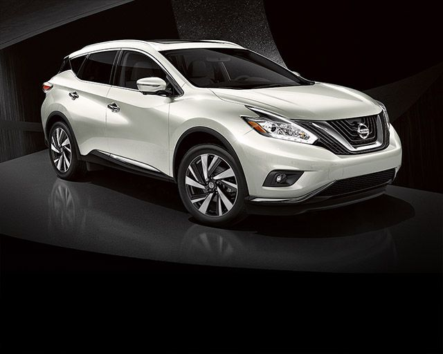 2016 Nissan Murano side view Pearl White
