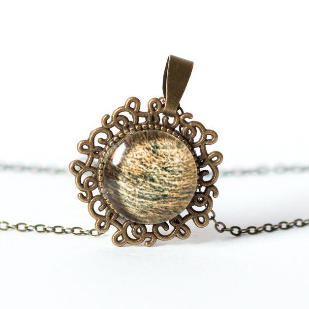 Naszyjnik z siankiem / Hay necklace - Art-Of-Nature