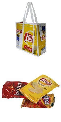 Lays® Wrapper Large Tote from Terra Cycle