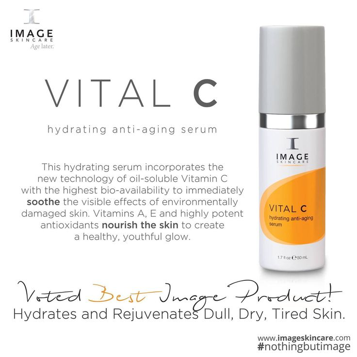 "#ProductFeature - Image Skincare Vital C Hydrating Anti-Aging Serum  ""This hydrating serum incorporates the new technology of oil-soluble Vitamin C with the highest bio-availability to immediately soothe the visible effects of environmentally damaged skin http://anti-aging-secrets.us"