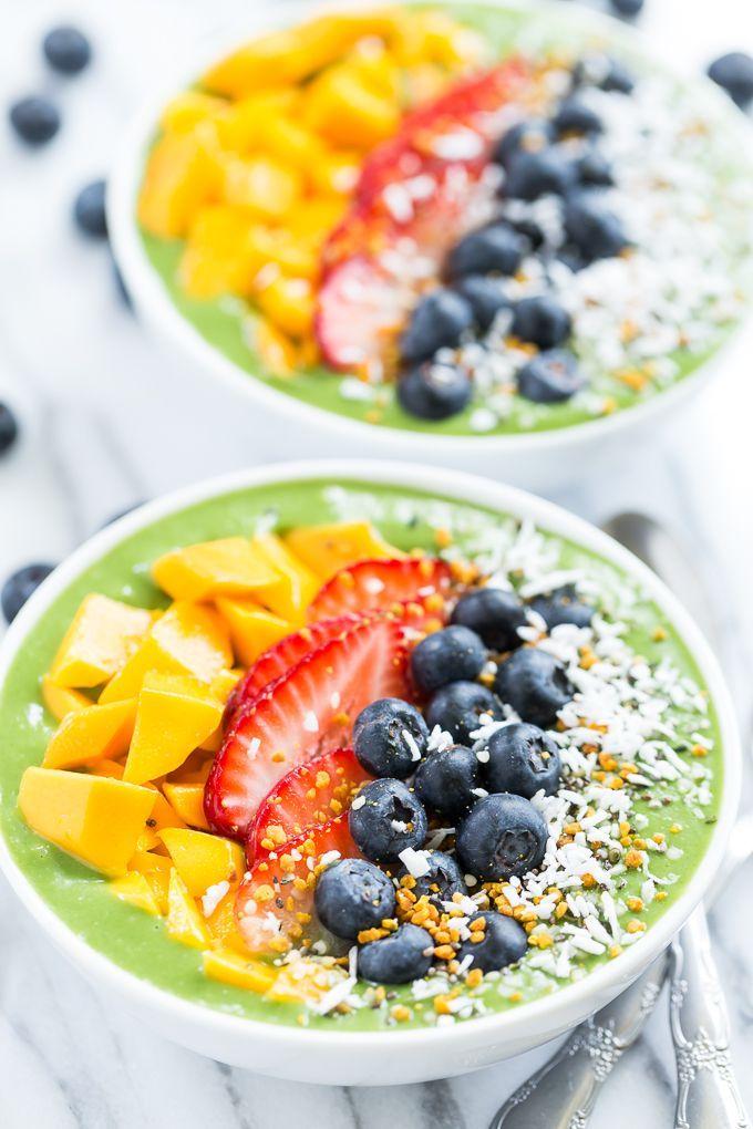 Green Smoothie Breakfast Bowls | GI 365