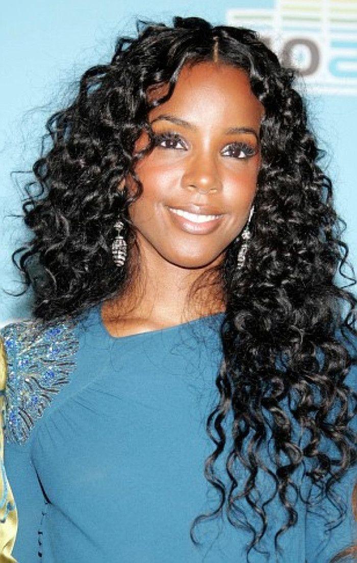 black hair weave styles