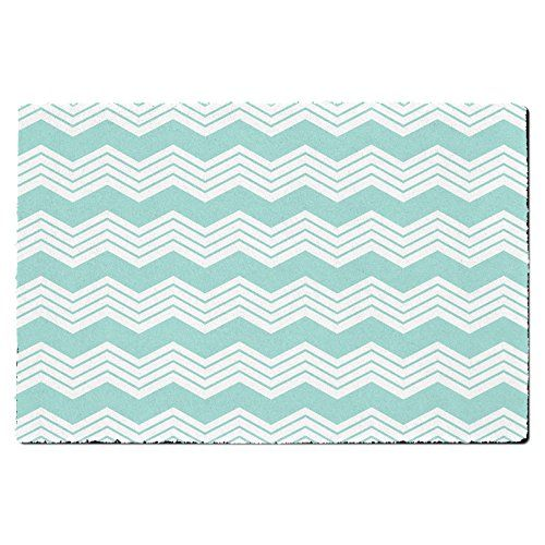 Chevron Mint Door Mat - Small Door Mat - Indoor Outdoor N... https://www.amazon.co.uk/dp/B011RWLOGI/ref=cm_sw_r_pi_dp_Ep6jxb8G65TXE
