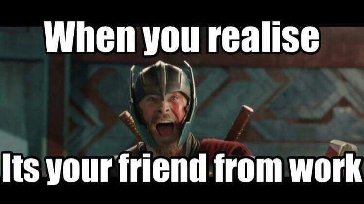 Thor funny meme. ragnarok trailer