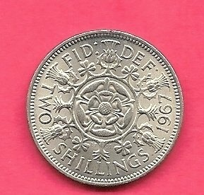 Two Shillings or a florin