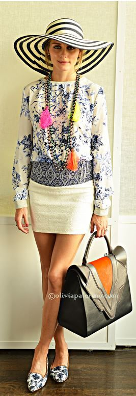 Olivia Palermo wearing Matt Bernson | mattbernson.com