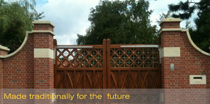 The Wooden Gate Specialists mix modernity with beauty in its wide range of hardwood gates.