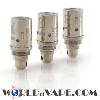 Check this out: I just received TEN 1.6 ohm Aspire BVC Coils (Pack of 5) (Not for the Nautilus) for my ET-S, VIVA etc http://shop.pe/ZsVDtT    BEST PRICE!                     Aspire BVC Coils (Pack of 5) (Not for the Nautilus)