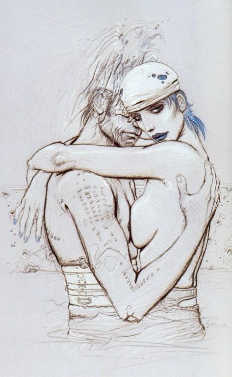 "From ""Bleu sang"" by Enki Bilal"