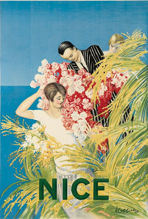 Travel poster by Leonetto Cappiello (1875-1942), 1927, Nice, France.
