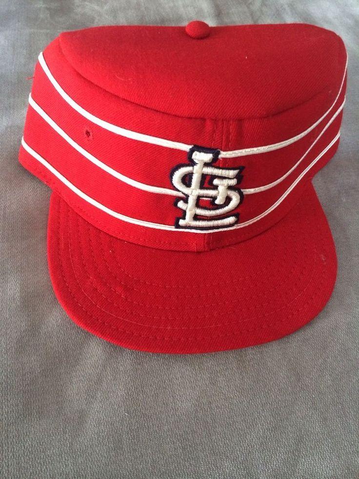Vintage St Louis Cardinals Pillbox New Era Hat Pillbox