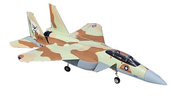 F-15 Desert 70mm 5CH EDF RC Jet Plane with Retracts RTF - http://www.nitrotek.co.uk/241.html