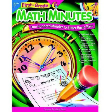 Creative Teaching Press Math Minutes, Multiple Grades, Multicolor