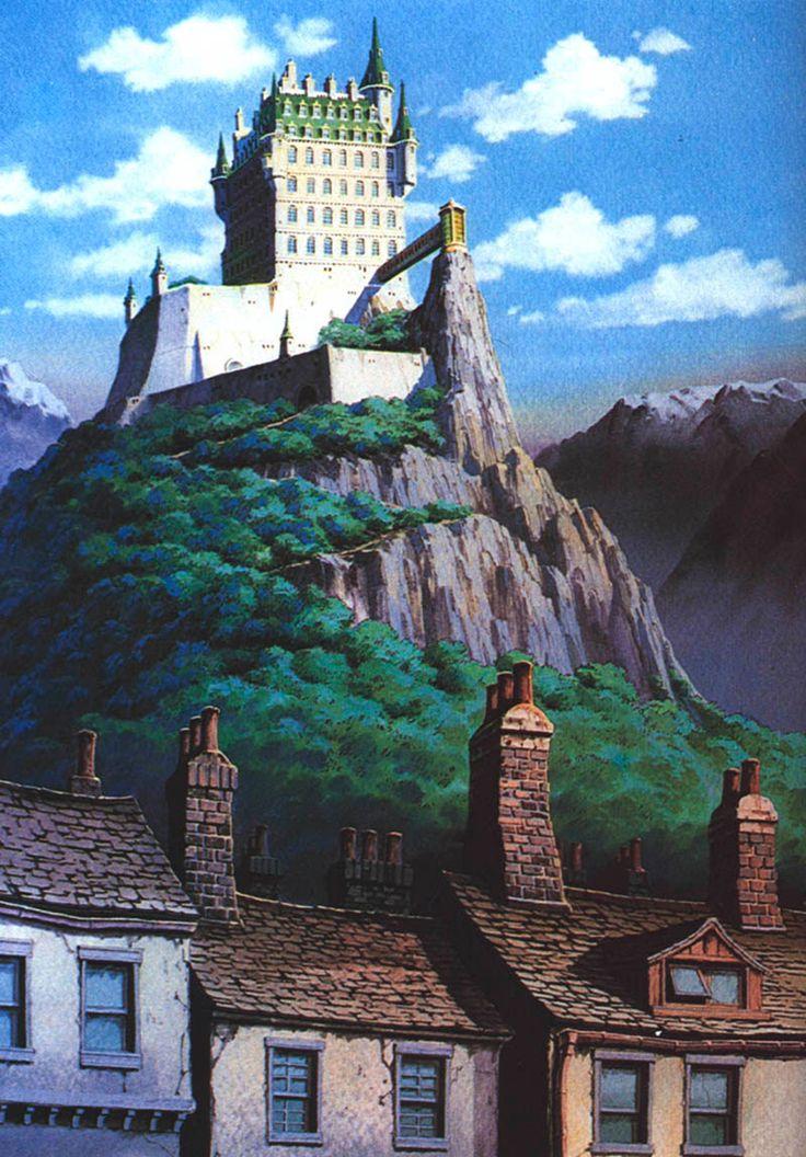 Hayao Miyazaki Art Inspiration Pinterest Hayao