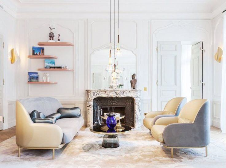 A Pretty Apartment In Paris