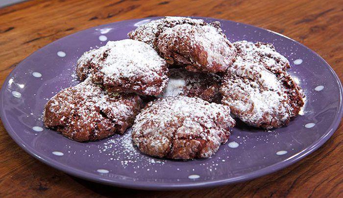 Gluten Free Dark Chocolate Cookies - Good Chef Bad Chef