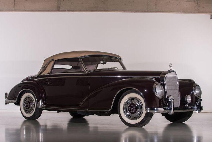 Automobiler Leckerbissen: 1954er Mercedes 300S Cabriolet wurde einst von Haribo-Chef Hans Riegel pilotiert - Fotostrecke - Mercedes-Fans - Das Magazin für Mercedes-Benz-Enthusiasten
