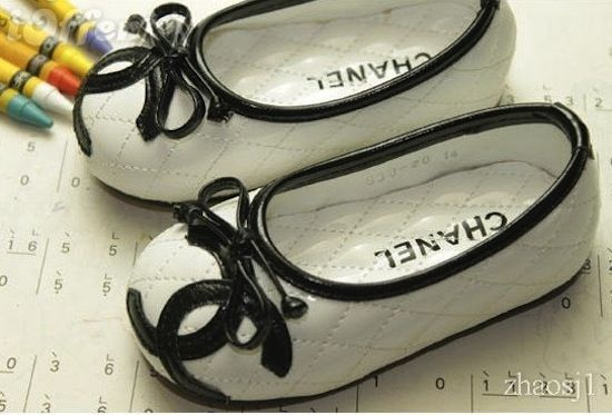 Chanel flats for little nanas