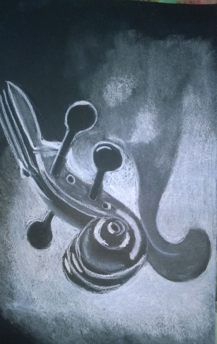 Sarah , Stem of Violin? Drawing