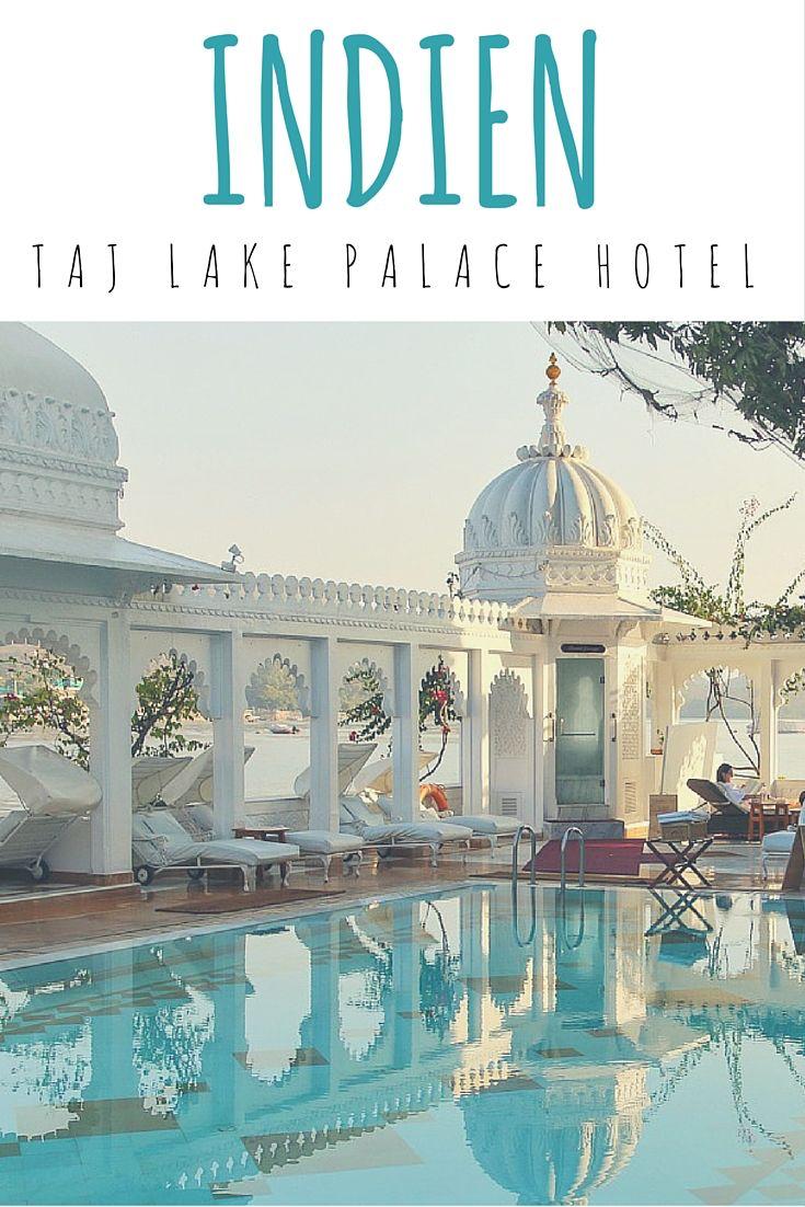 Udaipur, Indien: Taj Lake Palace Hotel - übernachten wie eine Prinzessin