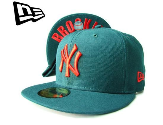 New York Yankees Brooklyn Undervisor 59Fifty Fitted Baseball Cap by NEW ERA x MLB