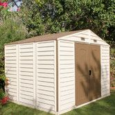 Found it at Wayfair - Woodside Vinyl Storage Shed