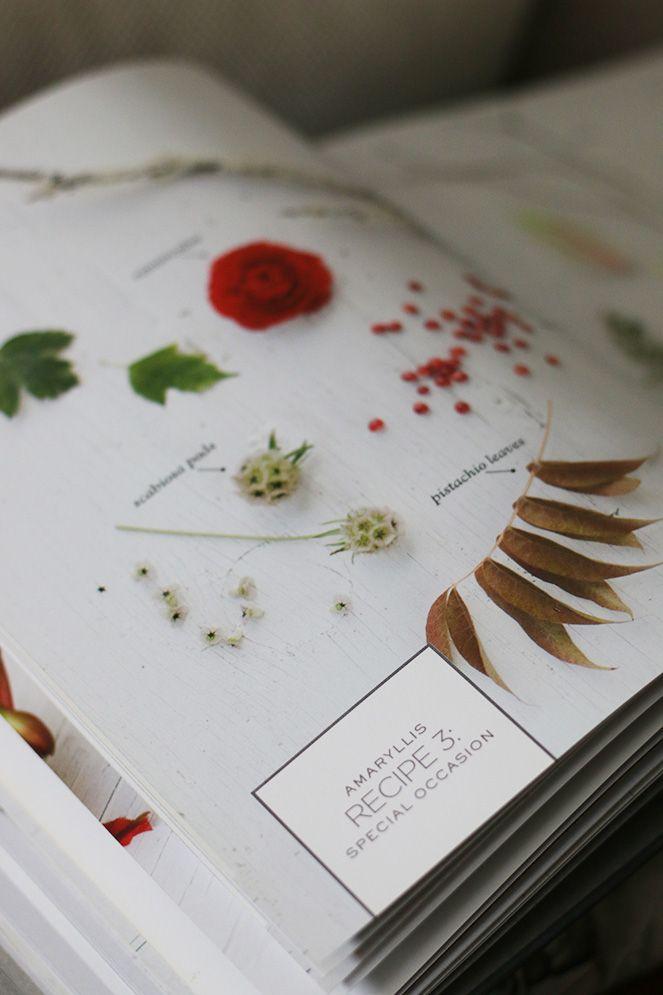 Book review: Flower recipe!