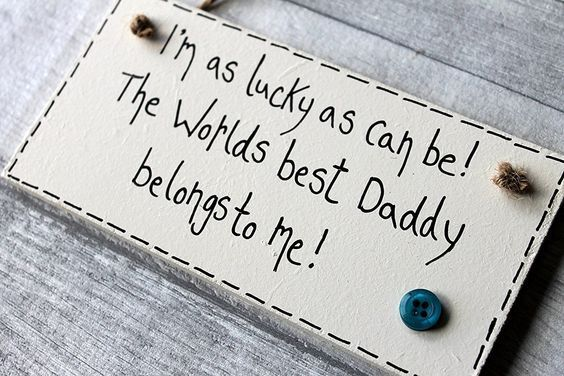 MadeAt94 Gifts For Daddy From Son Daughter Plaque Sign Birthday Fathers Day Dad