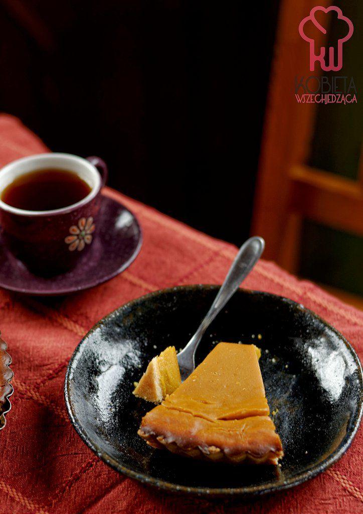 Korzenna tarta dyniowa na słodko