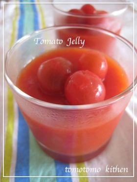 「真っ赤なトマトゼリー」よーちんママ   お菓子・パンのレシピや作り方【corecle*コレクル】