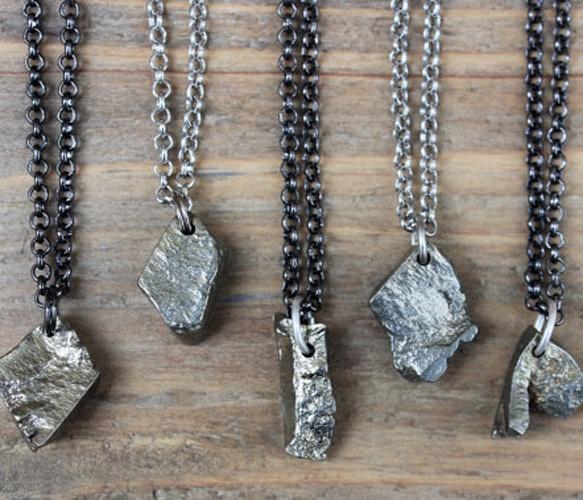 Bronze Rock Necklace Uncovet