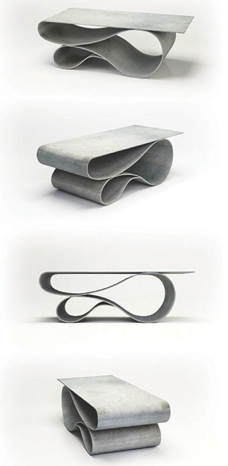 Concrete Canvas Table by Neal Aronowitz neal@naronowitz.com
